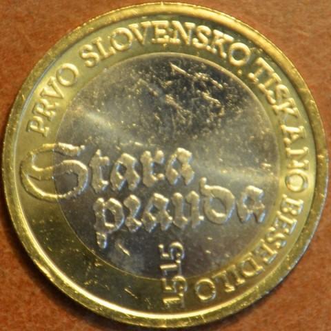Commemorative coin 3 Euro Slovenia 2015 (UNC)