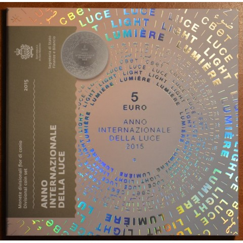 Official 9 coins set of San Marino 2015 (BU)