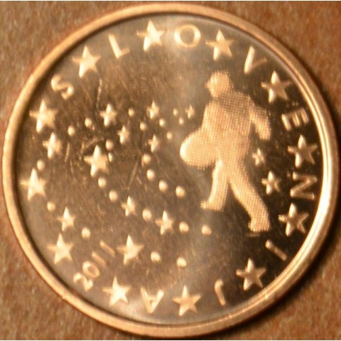 5 cent Slovinsko 2011 (UNC)