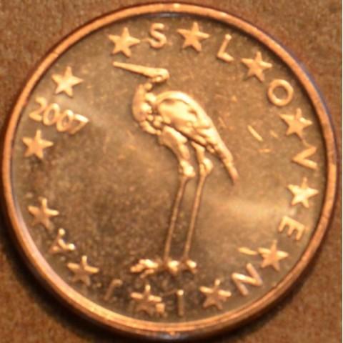 1 cent Slovinsko 2007 (UNC)