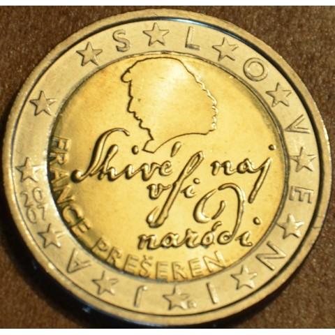 2 Euro Slovinsko 2007 (UNC)