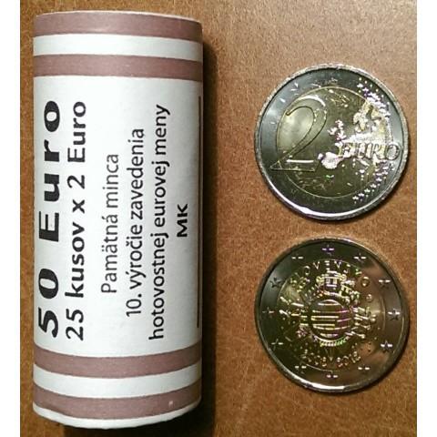 2 Euro Slovakia 2012 - Ten years of Euro  (25xUNC)