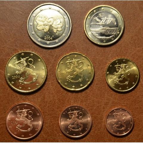 Sada 8 euromincí Fínsko 2004 (UNC)