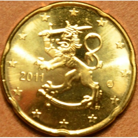 20 cent Fínsko 2011 (UNC)