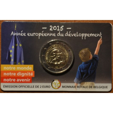 2 Euro Belgium 2015 - European Year for Development - French side (BU)