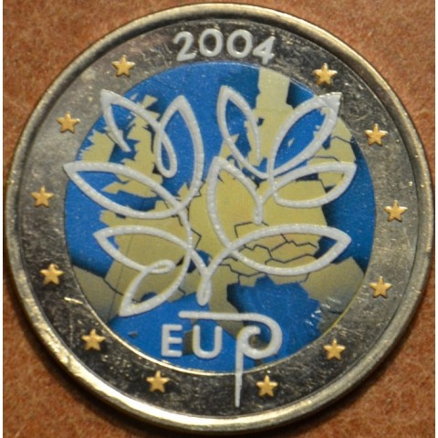 2 Euro Finland 2004 - Enlargement of the European Union by ten new Member States II. (colored UNC)