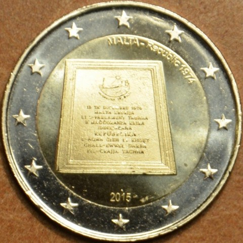 2 Euro Malta 2015 - Republic 1974 (UNC)