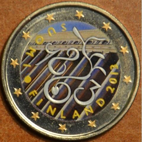 2 Euro Finland 2013 - 150th Anniversary of Parliament of 1863 II.  (colored UNC)