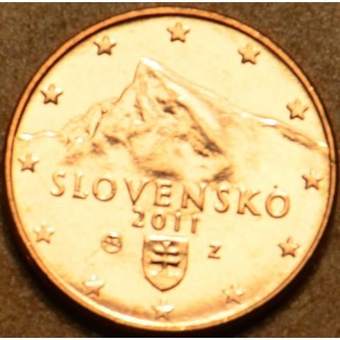 1 cent Slovensko 2011 (UNC)