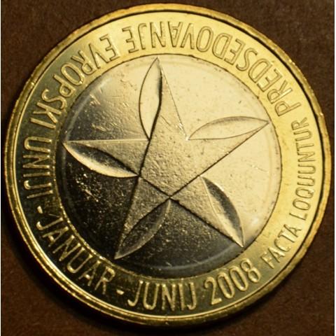 Commemorative coin 3 Euro Slovenia 2008 (UNC)