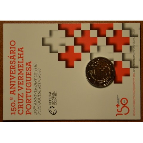 2 Euro Portugal 2015 - 150 years of Red Cross (BU)