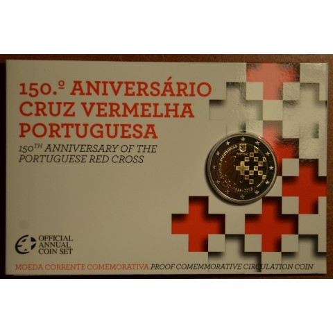 2 Euro Portugal 2015 - 150 years of Red Cross (Proof)