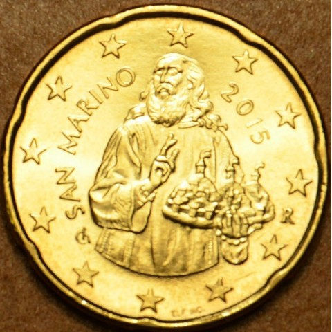 20 cent San Marino 2015 (UNC)