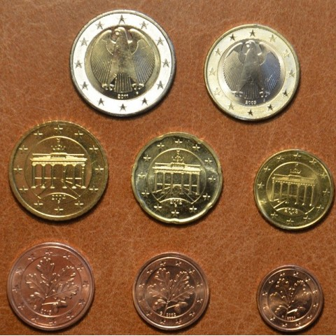 Set of 8 coins Germany mix 2002-2014 (UNC)