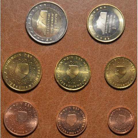 Set of 8 coins Netherlands 2003 (UNC)
