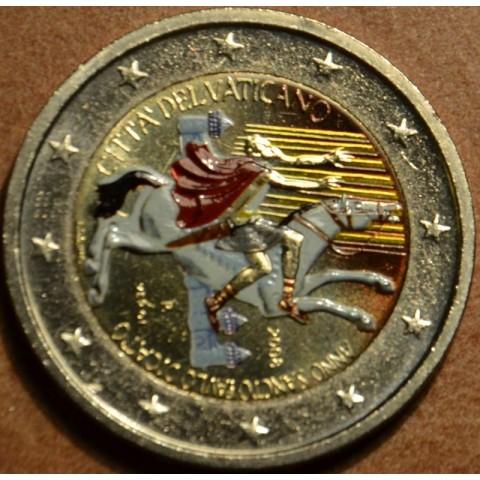 2 Euro Vatican 2008 - Paul the Apostle (colored BU)