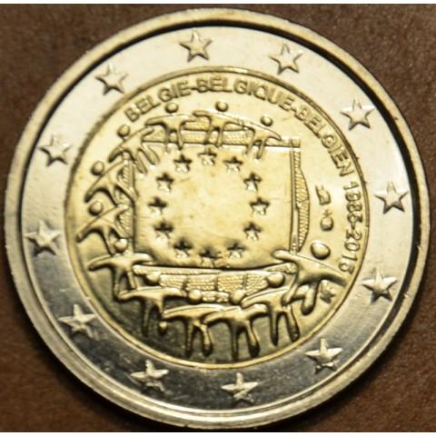 2 Euro Belgicko 2015 - 30 rokov Europskej vlajky  (UNC)