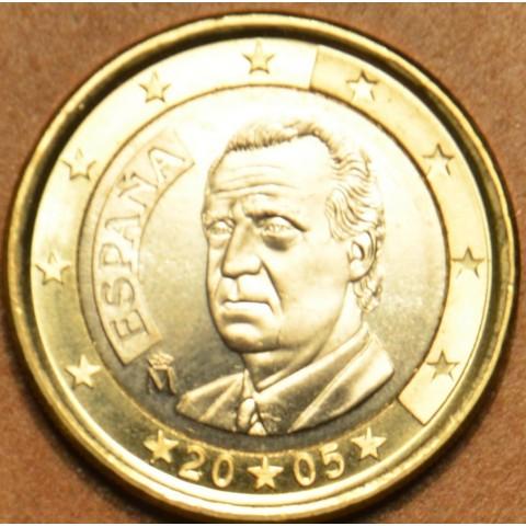 1 Euro Španielsko 2005 (UNC)