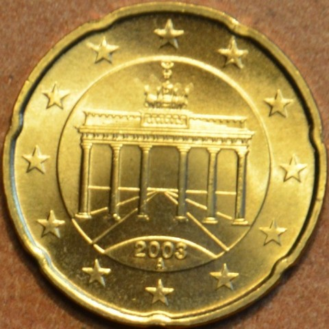 "20 cent Germany ""A"" 2003 (UNC)"