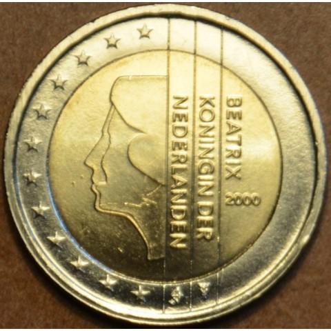 2 Euro Holandsko 2000 - Kráľovná Beatrix (UNC)