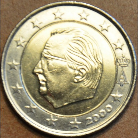 2 Euro Belgicko 2000 - Albert II.  (UNC)