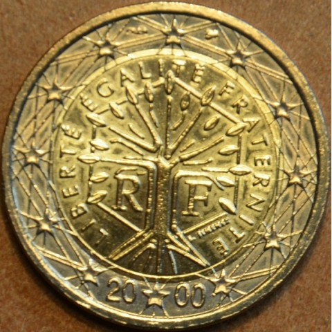 2 Euro Francúzsko 2000 (UNC)
