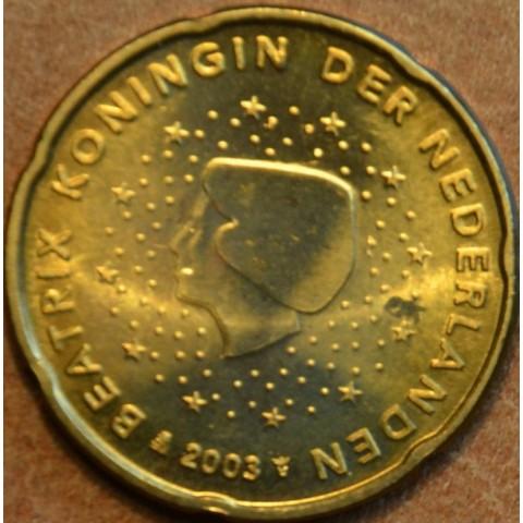 20 cent Netherlands 2003 (UNC)