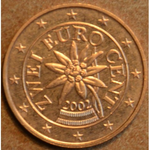 2 cent Austria 2002 (UNC)