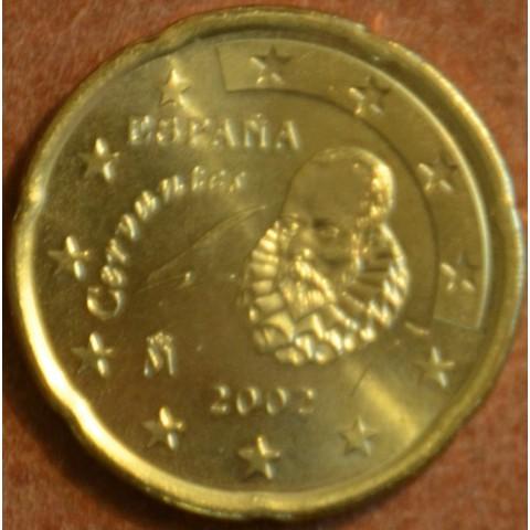 20 cent Spain 2002 (UNC)