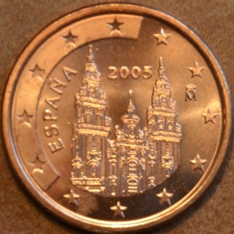 1 cent Spain 2005 (UNC)
