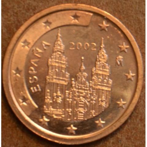 2 cent Španielsko 2002 (UNC)