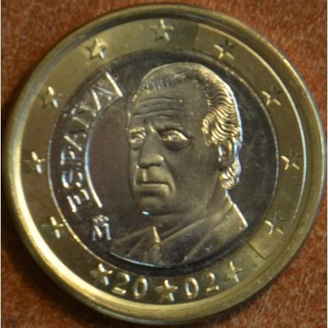 1 Euro Španielsko 2002 (UNC)