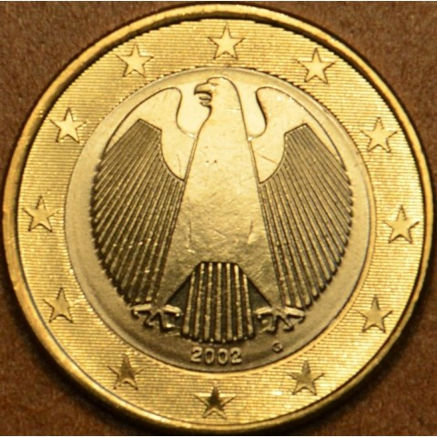 "1 Euro Germany ""G"" 2002 (UNC)"