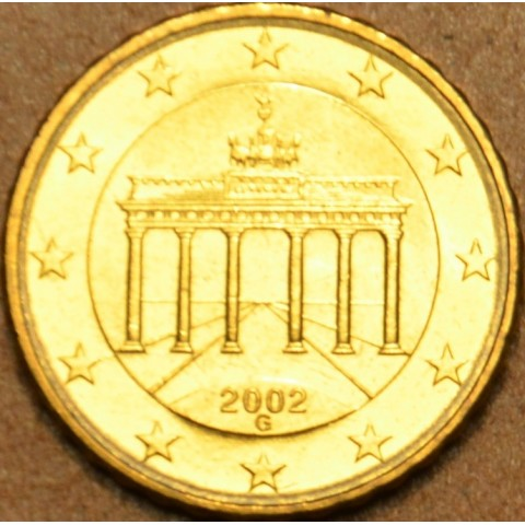 """10 cent Germany """"G"""" 2002 (UNC)"""