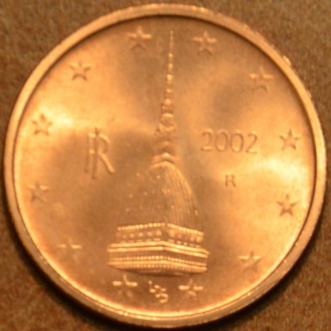 2 cent Taliansko 2002 (UNC)