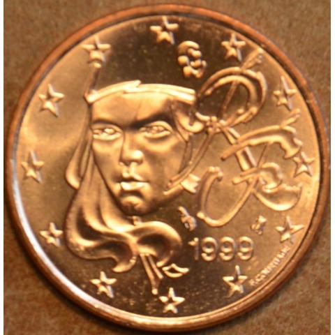 2 cent Francúzsko 1999 (UNC)