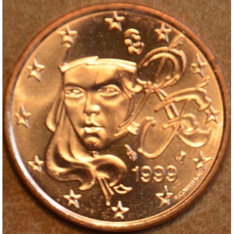 2 cent France 1999 (UNC)