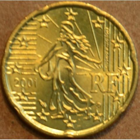 20 cent France 2001 (UNC)