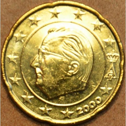 20 cent Belgicko 2000 (UNC)