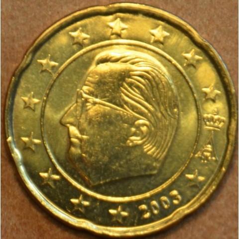 20 cent Belgicko 2003 (UNC)