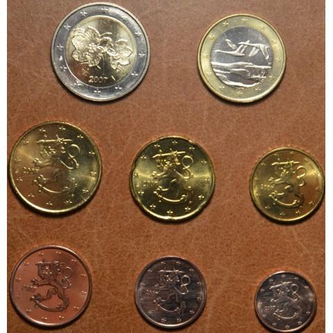 Set of 8 eurocoins Finland 2007 (UNC)