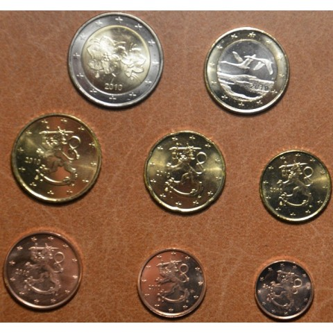 Set of 8 eurocoins Finland 2010 (UNC)