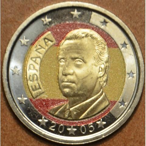 2 Euro Spain 2005 (colored UNC)