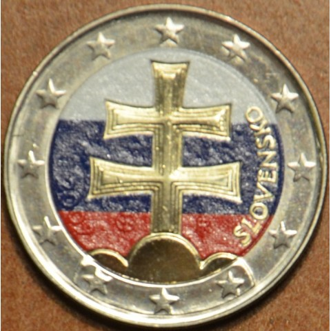 2 Euro Slovakia 2009 (colored UNC)