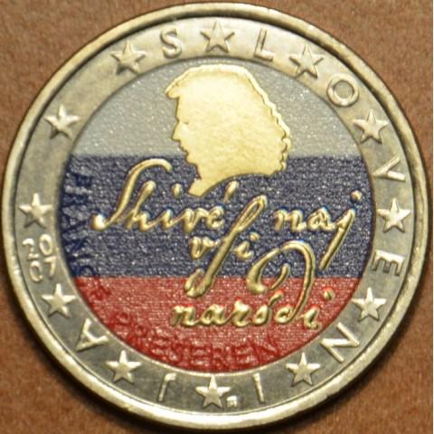 2 Euro Slovenia 2007 (colored UNC)