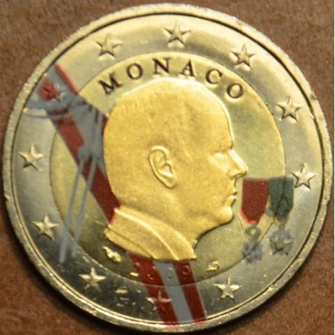 2 Euro Monaco 2009 (colored UNC)