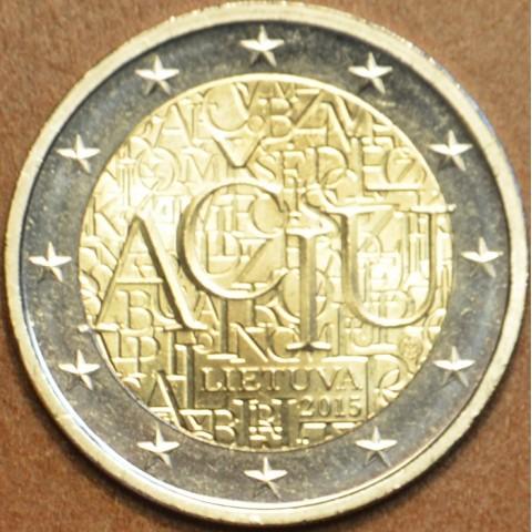 2 Euro Lithuania 2015 - Aciu: lithuanian language (UNC)