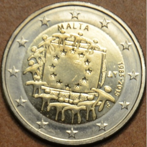 2 Euro Malta 2015 - 30 years of European flag (UNC)