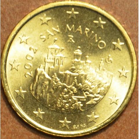 50 cent San Marino 2002 (UNC)