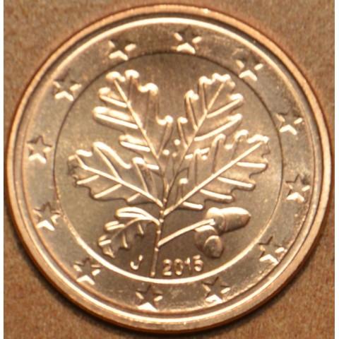 """1 cent Germany """"A"""" 2015 (UNC)"""